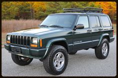 Lifted Cherokee Sport XJ For Sale - Lifted Jeep Cherokee - Built Jeep Cherokee — Davis Autosports Jeep Wrangler Lifted, Jeep Xj, Jeep Truck, Jeep Cherokee Lift Kits, Jeep Grand Cherokee Laredo, Cherokees, Jeep Trailhawk, Jeep Sport, Old Jeep