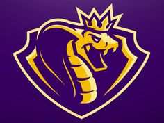King Cobra Sports Team logo designed by MALDITONG AGUSANON. Connect with them on Dribbble; Vector Logos, King Cobra Snake, Cobra Tattoo, Sports Team Logos, Sports Teams, Team Logo Design, Esports Logo, Game Logo, Animal Logo