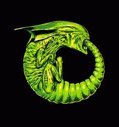 Alien Ouroboros T-Shirt - Movie T-Shirt