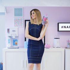 HELLO HELLO #NahSpace ! Dia de gravação  • Vestido jeans @damyller #meujeansdamyller
