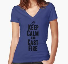 Keep Calm and Cast Fire by skilliamchan