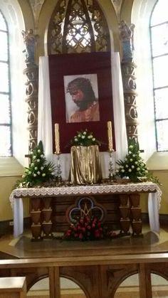 Altar Decorations, Holy Week, Lent, Holi, Decoupage, Wreaths, Diy, Home Decor, Eucharist