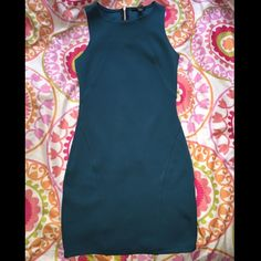 Forever 21 greenish dress Worn it around 3 times in perfect condition Forever 21 Dresses
