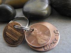 penny keychain