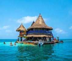 [Colombia] [My country] Hotel on the Caribbean Sea Colombian! Vacation Places, Places To Travel, Romantic Honeymoon Destinations, Country Hotel, Colombia Travel, South America Travel, Caribbean Sea, Travel Couple, Countries Of The World