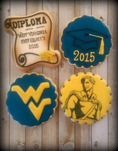 Graduation Decorated Cookies