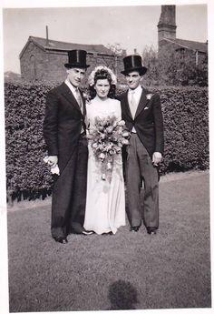 Vintage Wedding Photo England Vintage Brides
