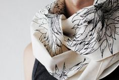 #Designer Scarfs #digital print scarfs from our latest collection..