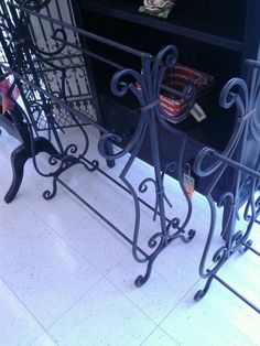 Love this #iron quilt rack. #HobbyLobby