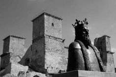 Nagy Lajos király-szobor, Miskolc (Diósgyőr), Diósgyőr (Miskolc) Austro Hungarian, Homeland, Hungary, Statue Of Liberty, Castles, Christianity, Sculptures, The Past, History