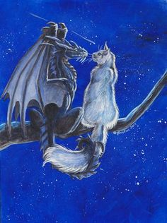 Sweethearts by Hbruton on DeviantArt Magical Creatures, Fantasy Creatures, Fantasy Dragon, Fantasy Art, Dragon Cat, Beautiful Dragon, Dragons, Fantasy Drawings, Dragon Pictures