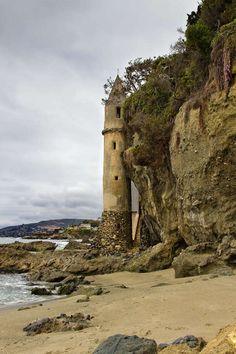 victoria beach tower pirate laguna beach orange county california