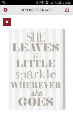 Just a quote I'd like to put in baby's room