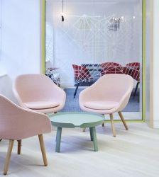 """Fauteuil Hay """"About A Lounge"""", pieds bois bâton"""