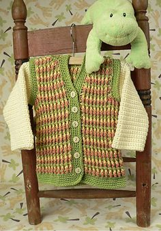 13 free pattern patterns for baby boy sweaters Free Crochet Pattern Link Blast: Baby Boy Sweaters | WIPs 'N Chains