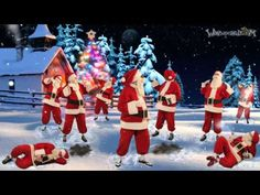 New Post merry christmas santa claus 2016 Merry Christmas Song, Christmas Carols Songs, Christmas Dance, Snoopy Christmas, Christmas Humor, Christmas 2016, 2 Advent, Dancing Santa, Happy Birthday Video