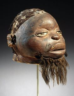 Lipiko (spirit) mask of the Makonde people, Cabo Delgado province, Mozambique. Artist unknown; 19th century. Now in the Brooklyn Museum. Photo credit: Brooklyn Museum/Wikimedia Commons.