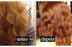 39fb6d6e3 Mulher troca shampoo por mistura fácil e TRANSFORMA o cabelo - Veja a  Receita: