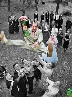 Good job, grooms! #wedding
