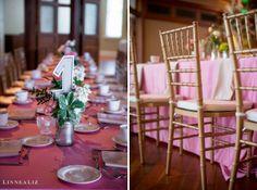 Pink and Gold Reception / LinneaLiz Photography / www.LinneaLiz.com / Indiana Landmarks Center, Indianapolis
