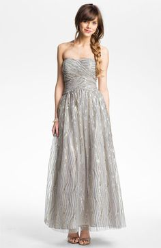 love and wish all my b-maids do too! lolHailey by Adrianna Papell E mbellished Tulle Gown | Nordstrom