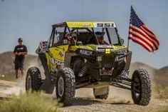 """Minneapolis, August 24, 2016–Polaris RZR continues to show sheer dominance in the Best in the Desert Racing Series (BITD), winning 11 of the top 12 Pro UTV finishes and the top two overall in the General Tire """"Vegas to Reno"""" The Long Way presented by FOX."""