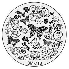 Bundle Monster 2015 Secret Garden Collection - BM718: Butterfly Wishes