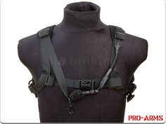 Pro-Arms H-Speed Shoulder Sling (Black)