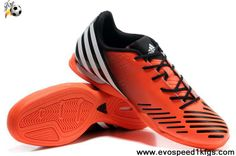 Cheap Discount Adidas Predator LZ TRX IC Infrared-Running White-Black Soccer Shoes For Sale