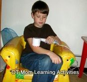 "Sensory Integration Activities  from ""OT Mom Learning Activities"". Pinned by SOS Inc. Resources.  Follow all our boards at http://pinterest.com/sostherapy  for therapy resources."