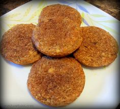 Cut the Wheat, Ditch the Sugar: Cinnamon Crunch Muffin Tops: Grain Free, Gluten Free, Sugar Free