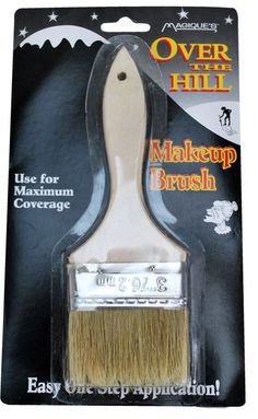 This brush is great for gag gifts for over the hill parties and more. Use this to apply your makeup for maximum coverage. Made of quality materials and great for many laughs. Prank Gifts, Joke Gifts, Funny Gifts, Silly Gifts, Gag Gifts Christmas, Santa Gifts, Christmas Fun, Christmas Pranks, Redneck Christmas