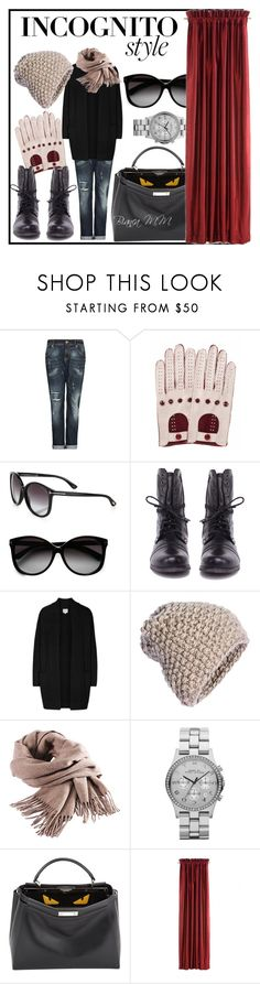 """Incognito Style"" by bianca1408 ❤ liked on Polyvore featuring MANGO, Tom Ford, Steve Madden, Reiss, KISS by Fiona Bennett, Filippa K, Marc by Marc Jacobs, Fendi, GetTheLook and incognitocelebstyle"