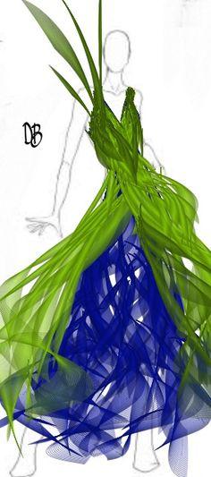 Retoques #dibujo de moda