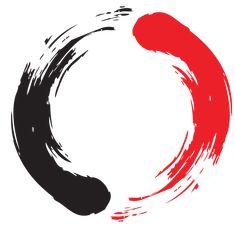 Guinn Martial Arts Logo, designed by Tiffani Sahara. Guinn Martial Arts Logo, designed by Tiffani Sahara. Arte Trash Polka, Trash Polka Tattoos, Tattoo Trash, Simbolos Tattoo, New Tattoos, Simbolos Star Wars, Tatuagem Trash Polka, Create Your Own Tattoo, Circle Tattoos