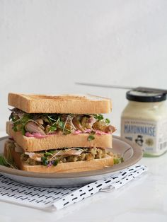 Thanksgiving Leftover Sandwich | www.acozykitchen.com