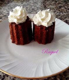 Minibundt Cakes de Chocolate y coco