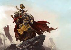 Gris Caballeros-gran maestro voldus GW-57-11 Warhammer 40,000