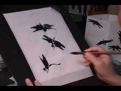 China Painting Tutorial - Mixing China Paints - Barbara Duncan - YouTube