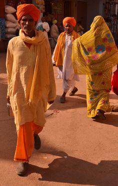 Pilgrims Progress . Pushkar