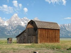 Thomas Murphy Homestead  Circa 1920s  Grand Teton National Park, Wyoming  by Don Wells