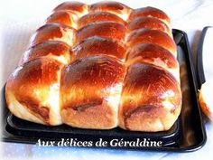 Aux délices de Géraldine: Brioche moelleuse sans beurre et sans oeuf (De Christophe Michalak)