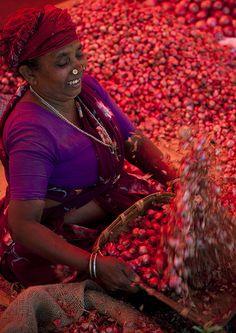 Kerala onions market - India   Flickr - Photo Sharing!