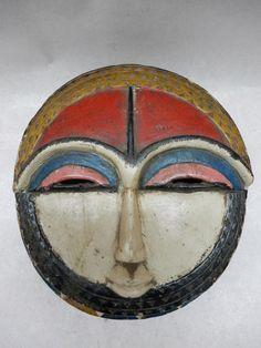 Kple kple Goli BAULE mask - Côte d'Ivoire