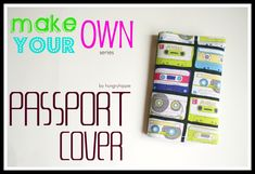 4d6d4ef4ea5c25 20 Best Pasport Holder images | Passport cover, Sewing, Sewing crafts