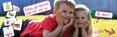 Eröffnungsflyer von earlybirdlounge dem Onlineshop für stylische Artikel für Babys und Kinder.
