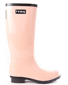 Blush Rain Boot - Roma || The #OneforOne model allows your purchase of a boot to fund the donation of a rain boot to an impoverished child in Romania. For every boot purchased, one is given. Plus, 10% of profits are put toward #education projects. Made from 100% #natural rubber. Find more great products at @philorgs.
