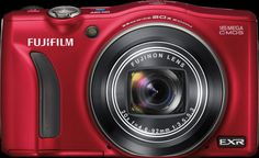 The Fujifilm Finepix F800EXR   20x optical zoom and build in WiFi Wireless image transfer for Android and Ios Mobile devices.