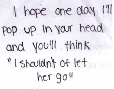 ...maybe, one day.
