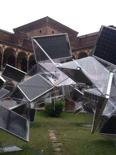 2012年 ミラノサローネ Panasonic。光合成がテーマの迫力ある素晴らしい展示。